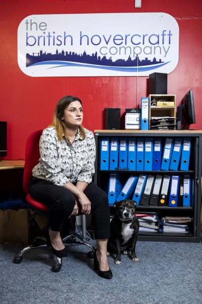 Emma Pullen joined the Leave campaign, Managing Director British Hovercraft Company Ltd