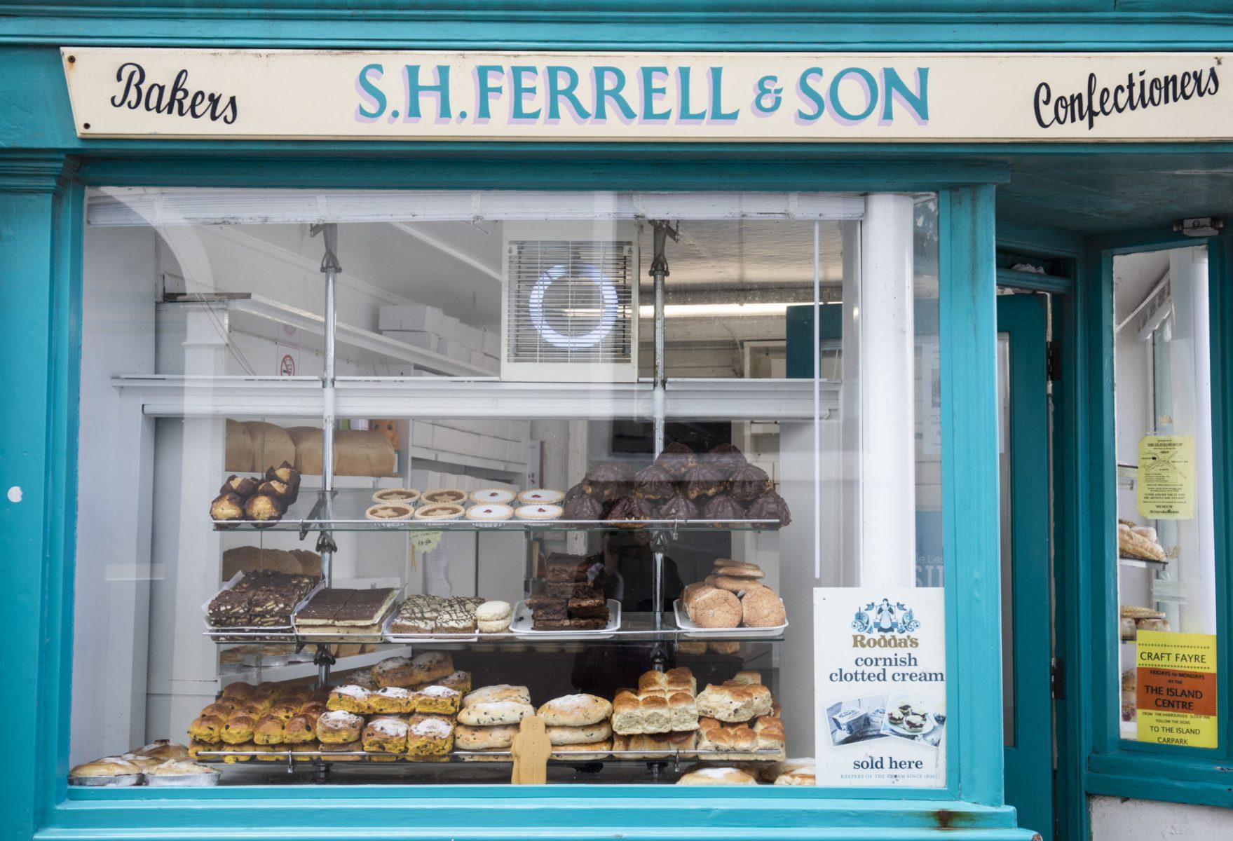 S.H.Ferrell & Son Bakery, St Ives, Cornwall