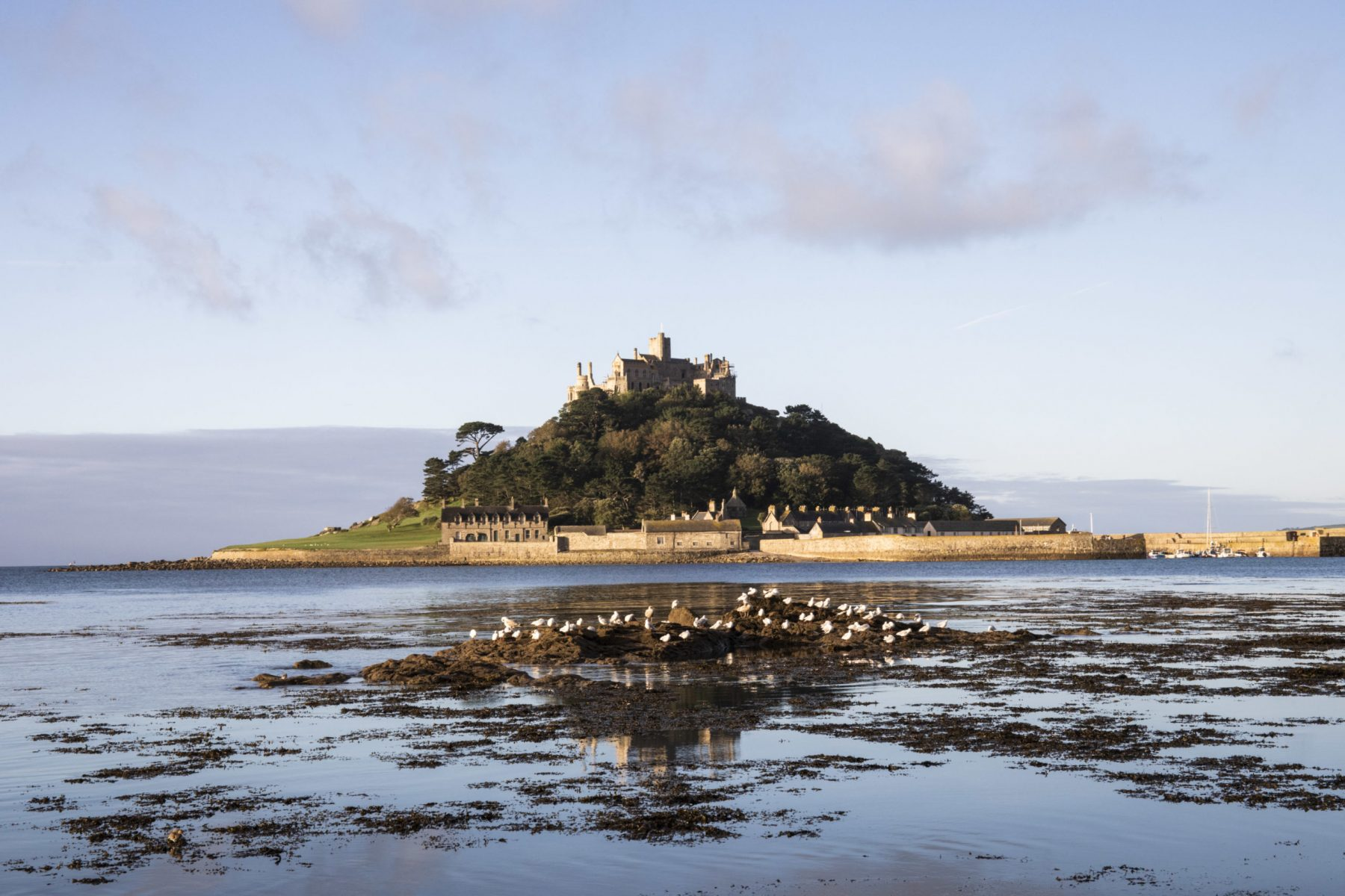 St Michaels Mount, Cornwall,