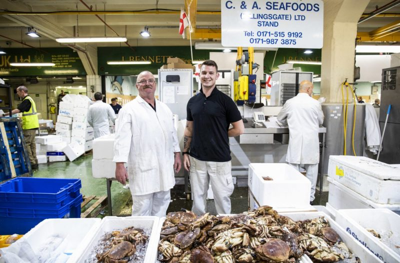 Peter from C & A Seafoods