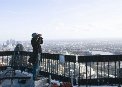David Lindo, Urban Birder on Tower 42