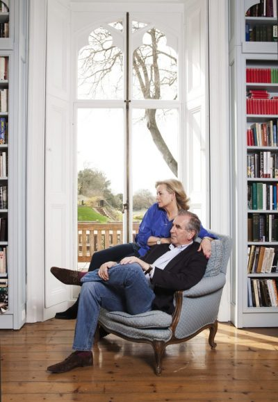 Gill Hornby and Robert Harris